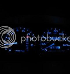 diy change gauge cluster lights under dash neons clubintegra com acura integra rsx forum [ 1024 x 768 Pixel ]