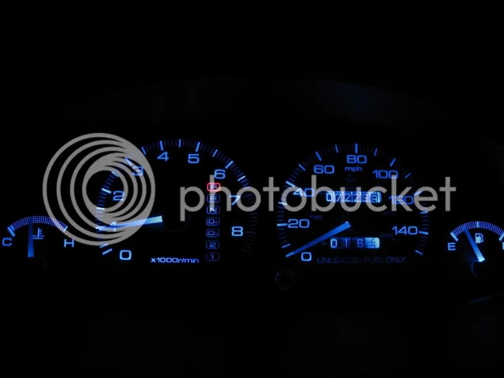 hight resolution of diy change gauge cluster lights under dash neons clubintegra com acura integra rsx forum