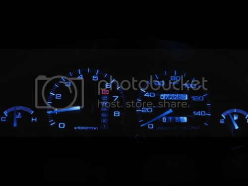 small resolution of diy change gauge cluster lights under dash neons clubintegra com acura integra rsx forum
