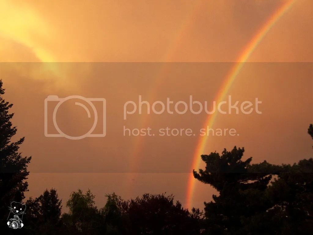 Double Rainbow in May 2015, in Saxony, Germany