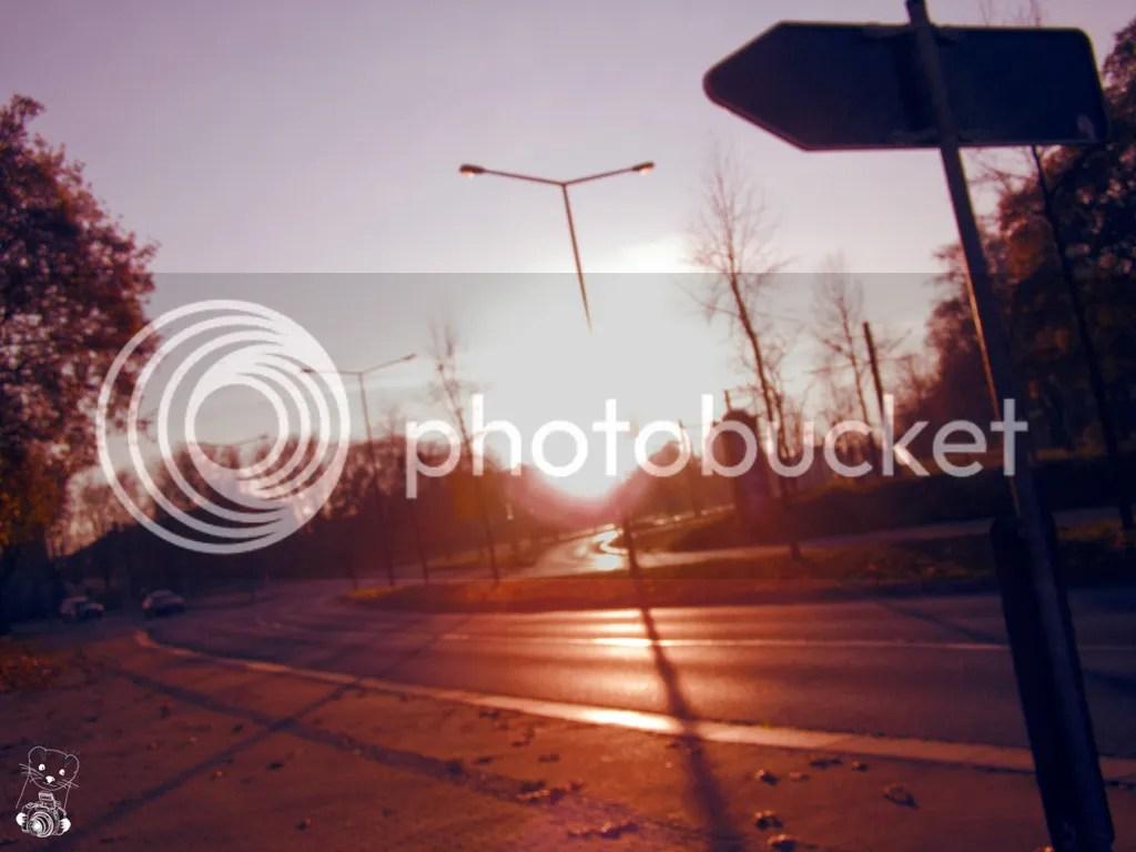 Crossroads in Dresden Germany - 31.11.2011