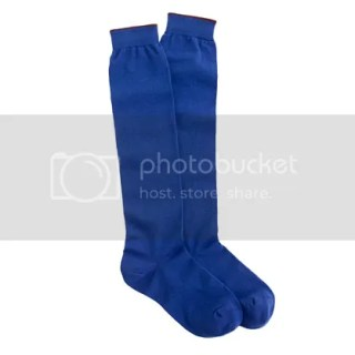 Tipped Knee High Socks