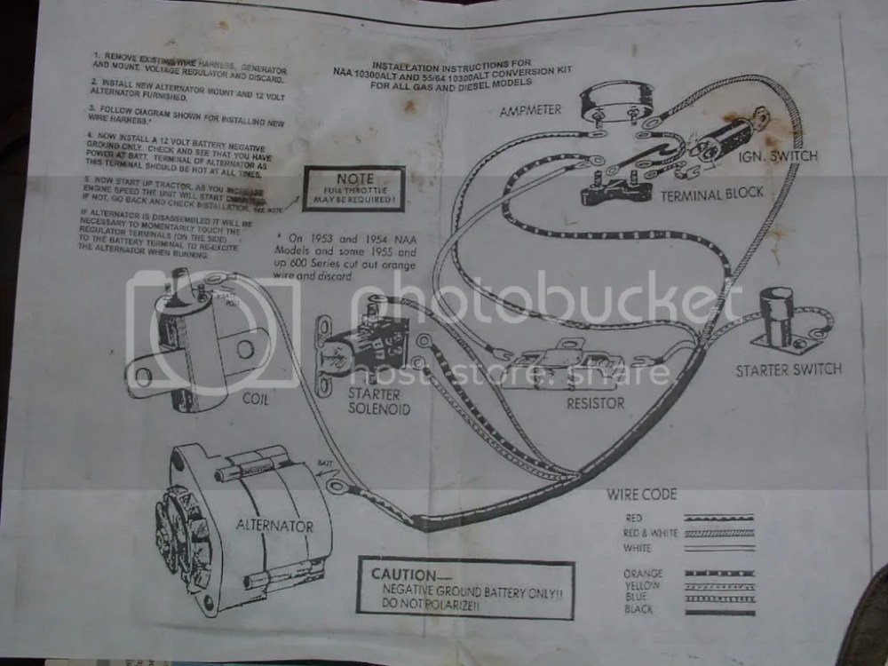 medium resolution of ford 1100 tractor wiring diagram wiring library8n tractor wiring diagram 20