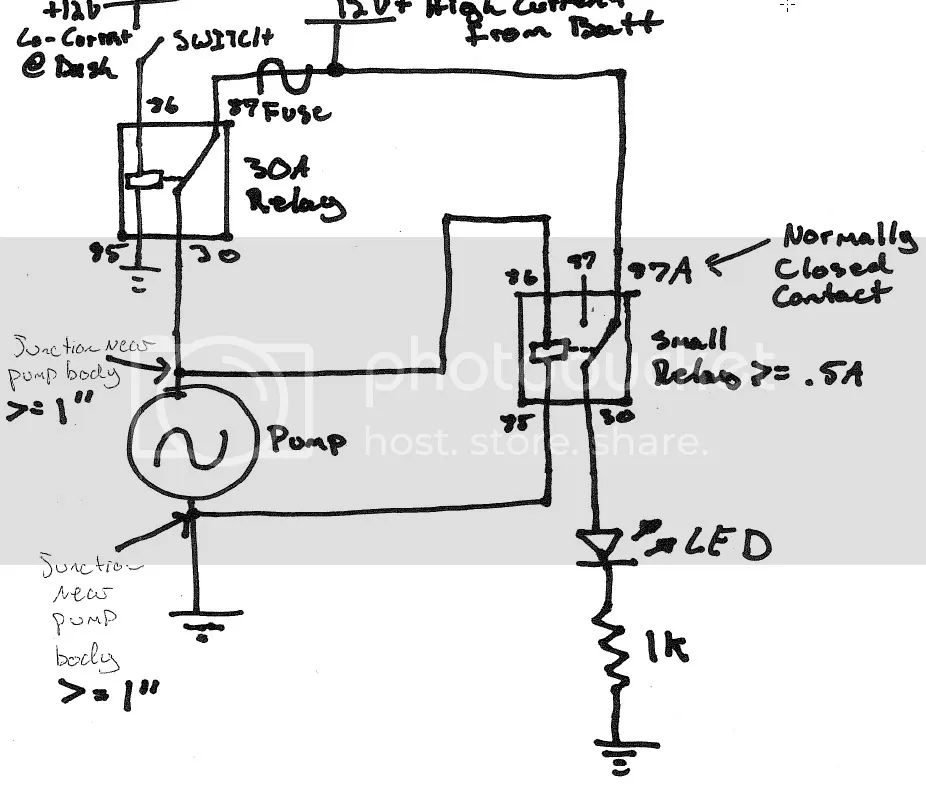 wiring a electric water pump ls1tech