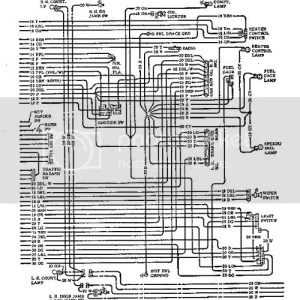 wiring diagram on chevelle Page1  Chevy High Performance
