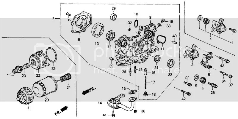 92 honda accord fuel filter