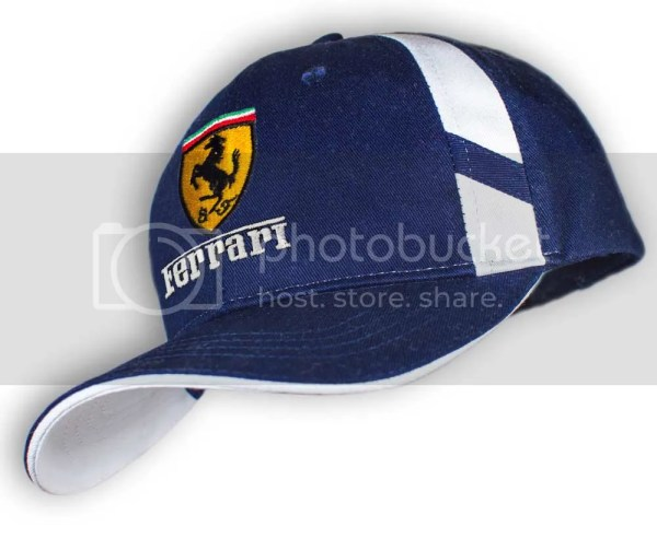 53895587 Ferrari Hat Covert Empire. Ferrari Unisex Baseball Cap Hat 100 Cotton. Dark  Blue