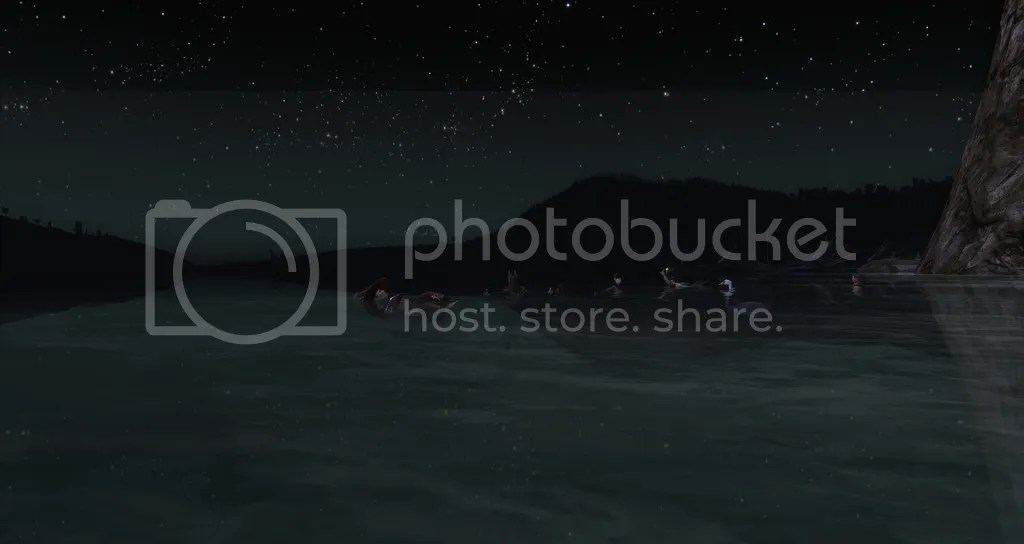 Swimming with the stars in Dol Amroth