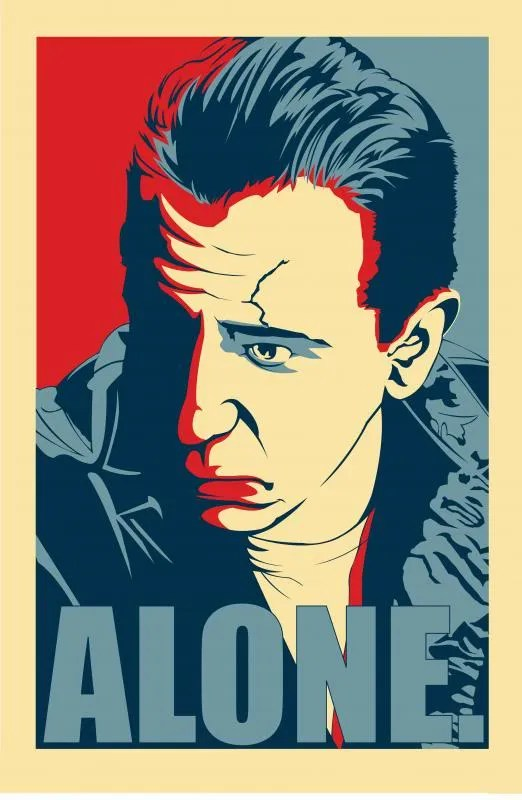 ALONE WITH MALLONE photo ALONE_Poster.jpg