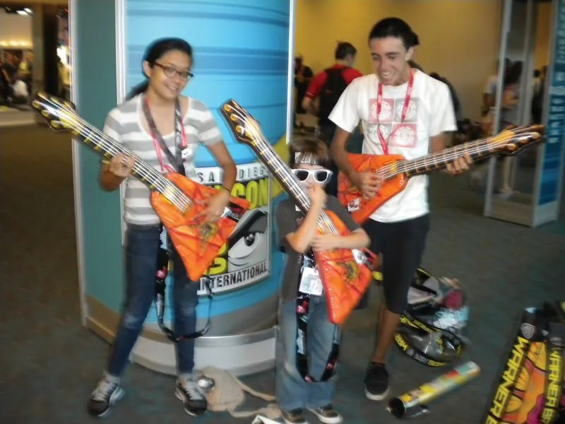 Guitar Comic-Con 2011 kids