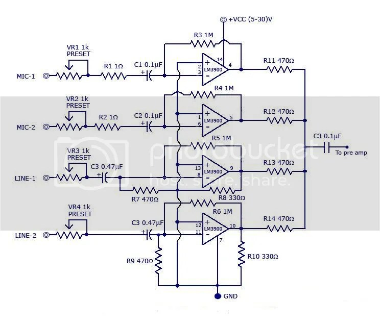 Ts Big Idea: Jrc4558 Mixer Diagrams Circuits