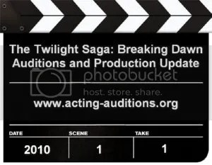 Breaking Dawn Casting Updates