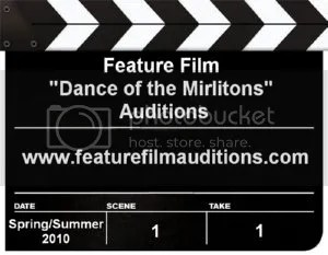 Dance of the Mirlitons Auditions