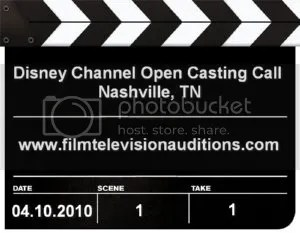 Disney Channel Open Casting Call Nashville