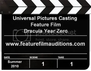 Dracula Year Zero Auditions