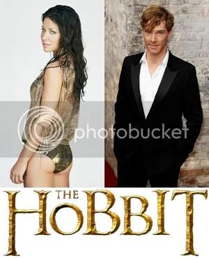Sexy Evangeline Lilly Benedict Cumberbatch