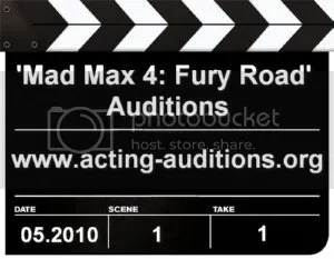 'Mad Max 4 Fury Road' Auditions
