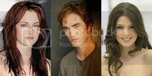 Robert Pattinson Kristin Stewert Ashley Greene