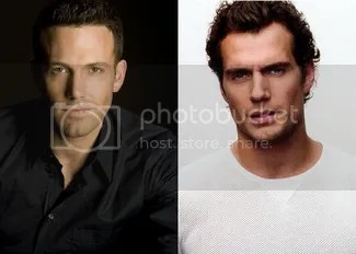 Ben Affleck Henry Cavill Batman Superman Man of Steel 2