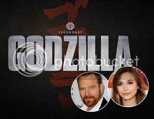 Bryan Cranston Elizabeth Olsen Godzilla