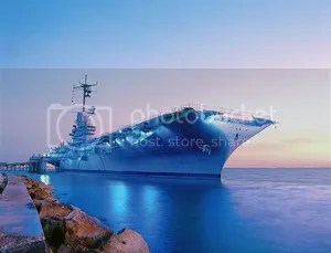 Fox TV Wild Blue USS Lexington