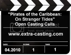 Pirates of the Caribbean On Stranger Tides Casting Calls