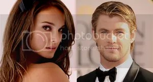 Natalie Portman Chris Hemsworth Thor 2