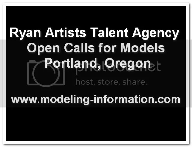 Ryan Artists open model calls