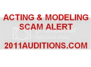 2011auditions.com scam alert