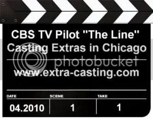 CBS TV Pilot The Line Extras Casting