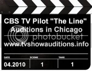 CBS TV Pilot The Line Auditions