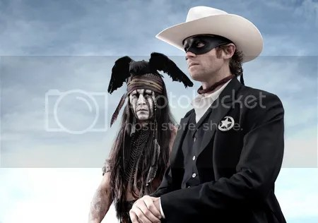 Walt Disney The Lone Ranger Johnny Depp
