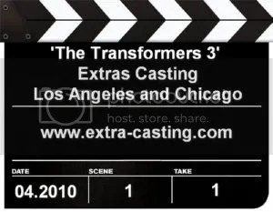 The Transformers 3 Extras Casting