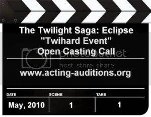 Eclipse Twihard Event Open Casting Call