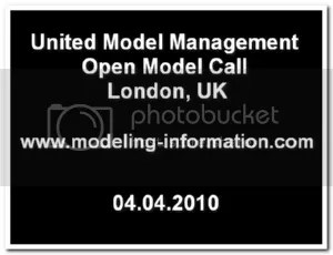 United Model Management open model call