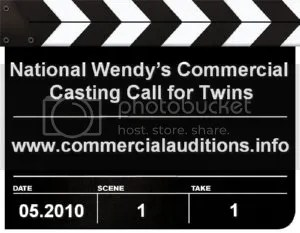 Wendys Commercial Casting Call