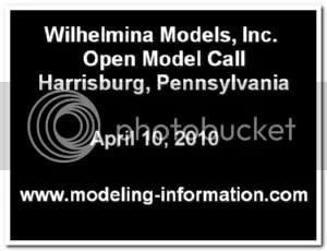 Wilhelmina Models Open Call Harrisburg