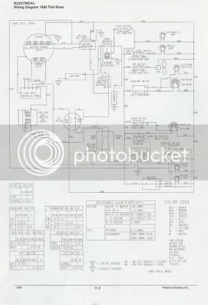 Polaris 1999 250 Trailboss Wireing Diagram Upright Photo