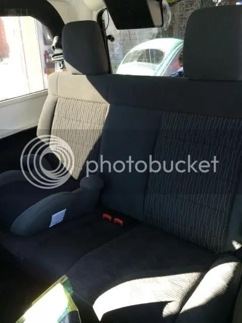 JK Rear seat back in a LJ  JeepForumcom