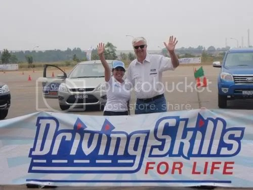 Eka & Mr. William Angove, Presdir PT. Ford Indonesia