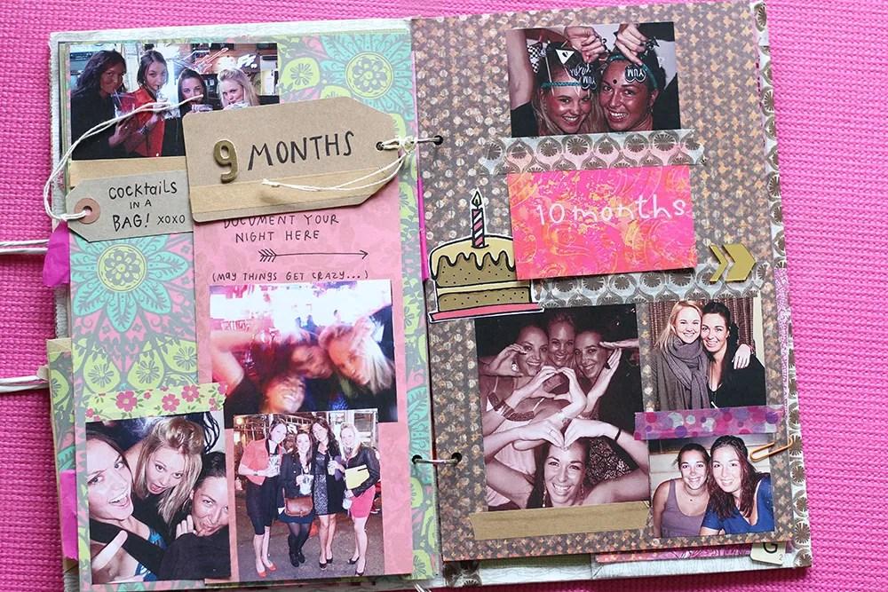 scrapbook wedding gift idea