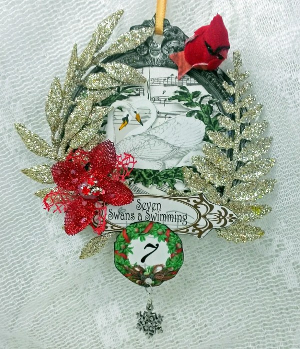 Artfully Musing 12 Days Of Christmas Ornaments And
