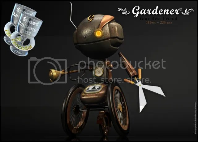 Gardener Winner!