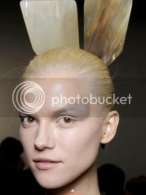 make up,hair,pale,rabbit