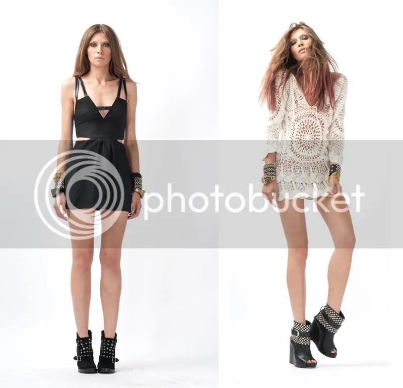bocycon,lbd,crochet dress,long sleeve mini dress