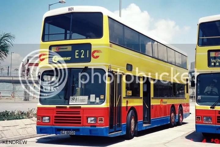 F/N 801 @ E21 - 巴士攝影作品貼圖區 (B3) - hkitalk.net 香港交通資訊網 - Powered by Discuz!