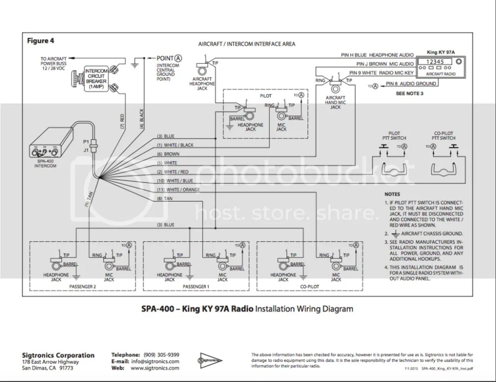 Sigtronic Headset Wiring Diagram - aviation products on
