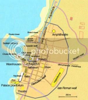 凱撒利亞地圖
