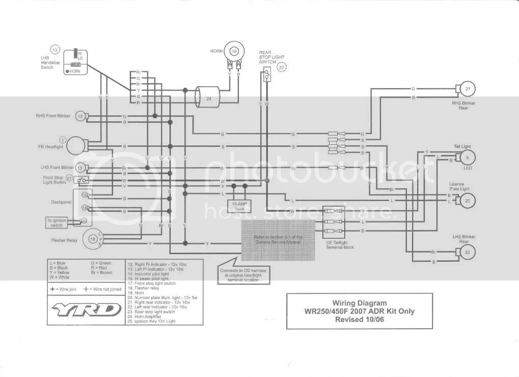 related with yamaha wr450 wiring diagram