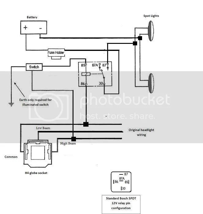 spotlight wiring diagram hilux bmw z3 stereo spot/driving light - page 3